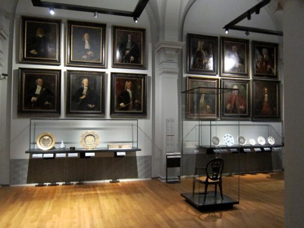 Portraits of important 17th century Dutch businessmen