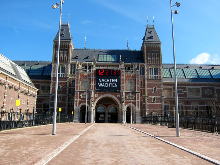 rijksmuseum re-opening countdown clock