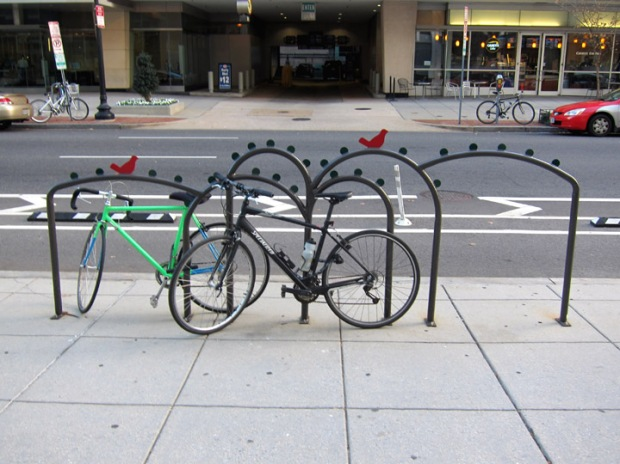 DC Bird bike rack