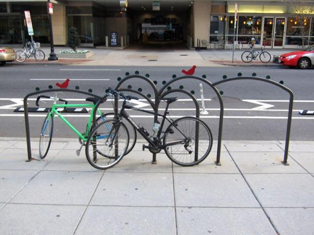 DC Bird bike rack