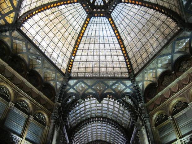 Glass dome, Párizsi Udvar