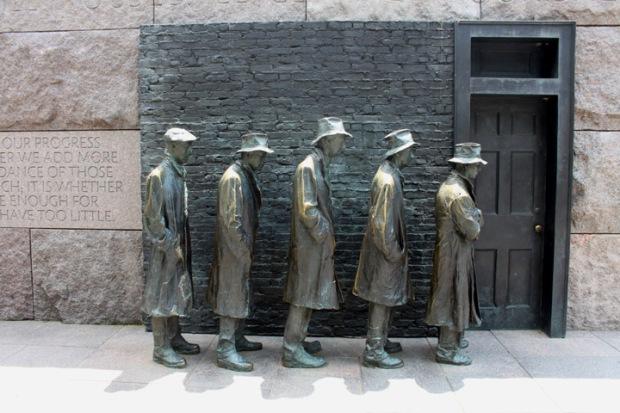Washington DC: FDR Memorial