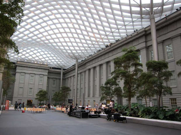 National Portrait Gallery and Smithsonian American Art Museums Inner courtyard