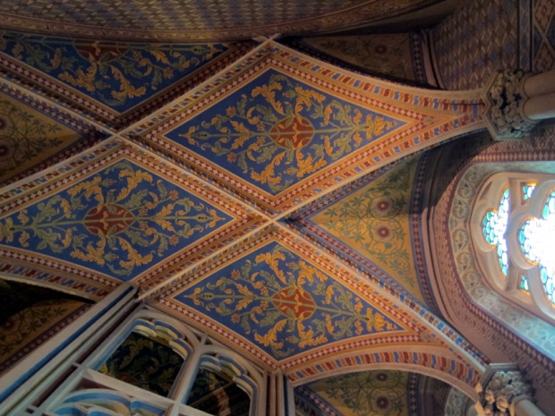 Matthias Church Budapest, Treasury ceiling