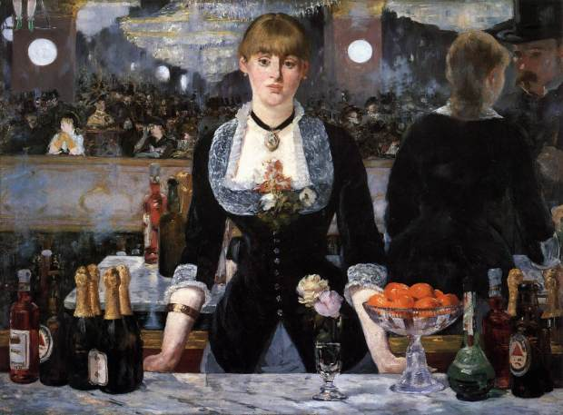 Manet - A Bar at the Folies-Bergère