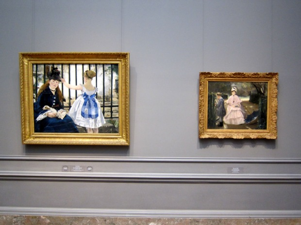 The Nanny paintings in the Impressionist Gallery, National Gallery of Art