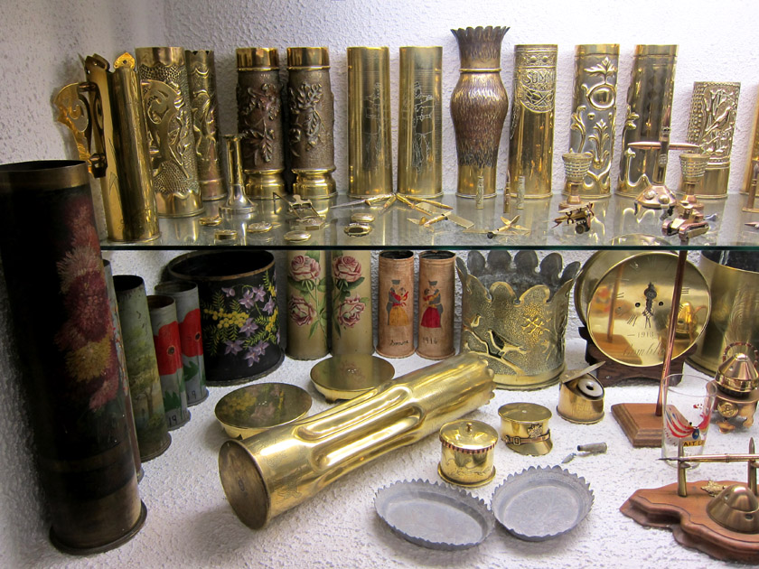 French World War I trench art