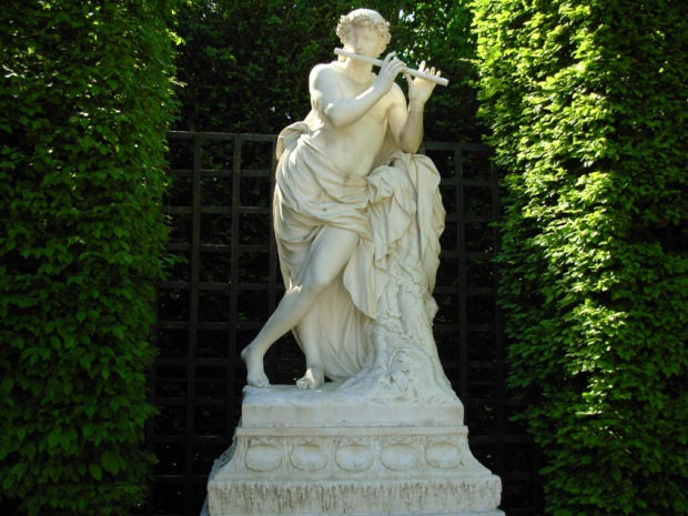 A Statue of Acis from the Grove of Domes, Gardens of Versailles