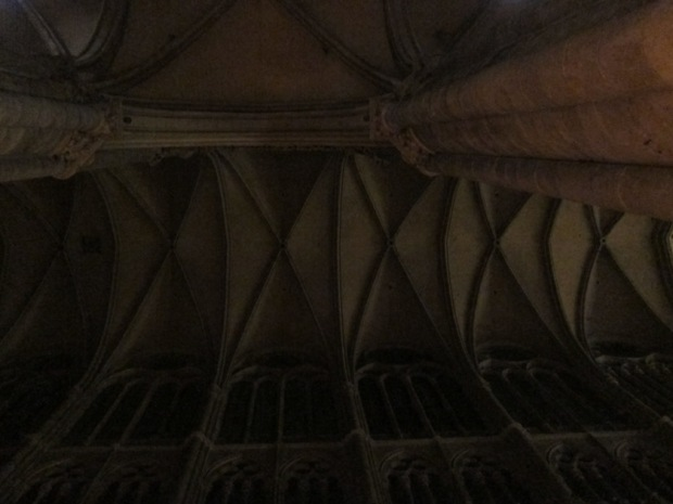 Amiens Cathedral ceiling