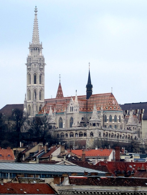 Matthias Church from the river