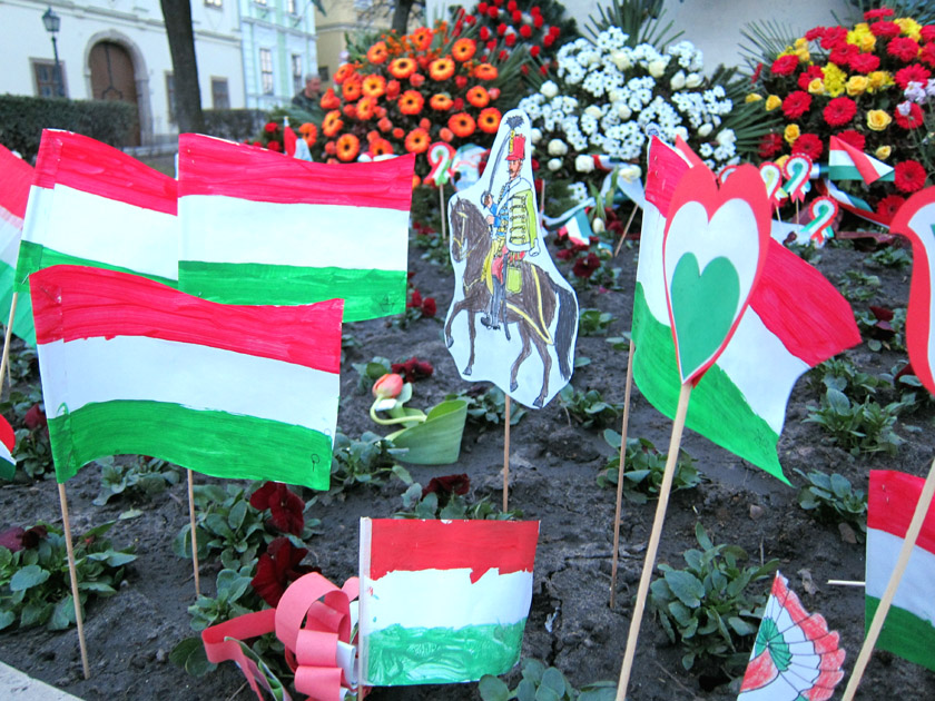 Hungarian Day decorations by children