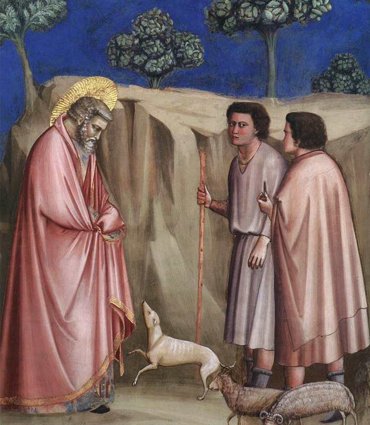 Joachim among the Shepherds