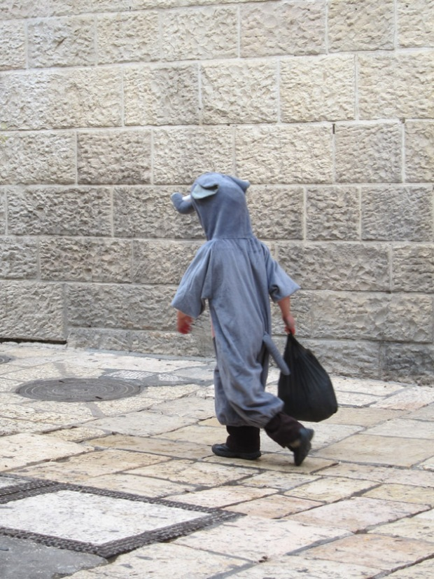Purim elephant