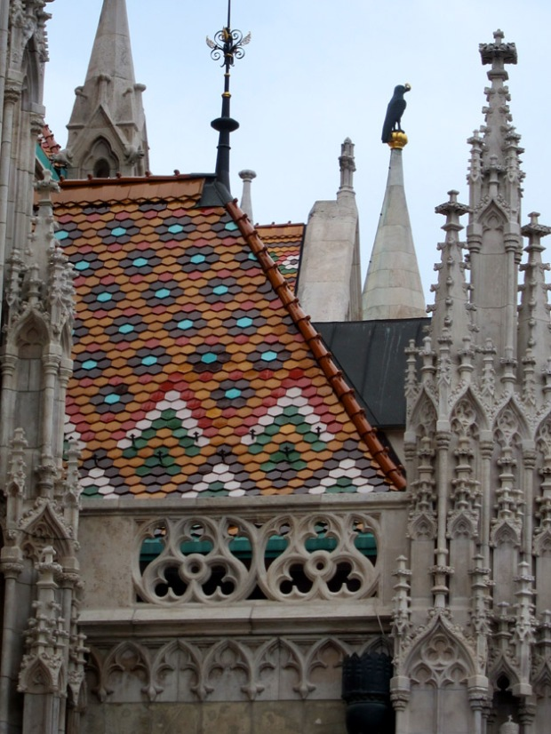 Matthias Church roof tiles