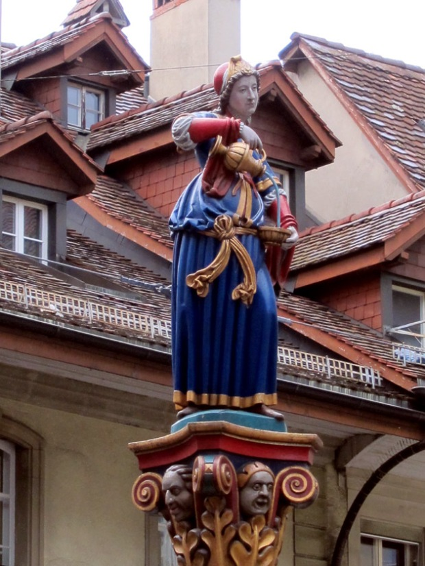 Anna Seiler Brunnen Fountain, Bern