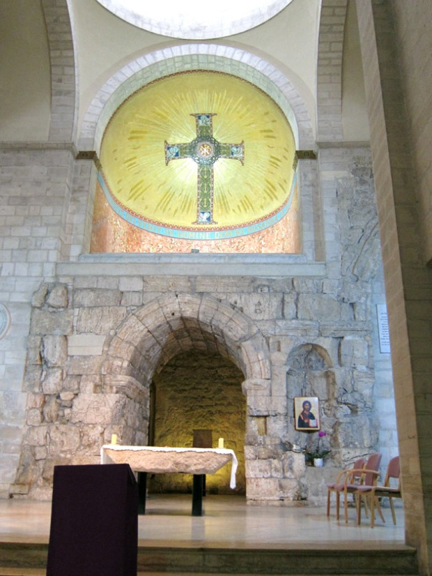 Ecce Homo church interior, Jerusalem