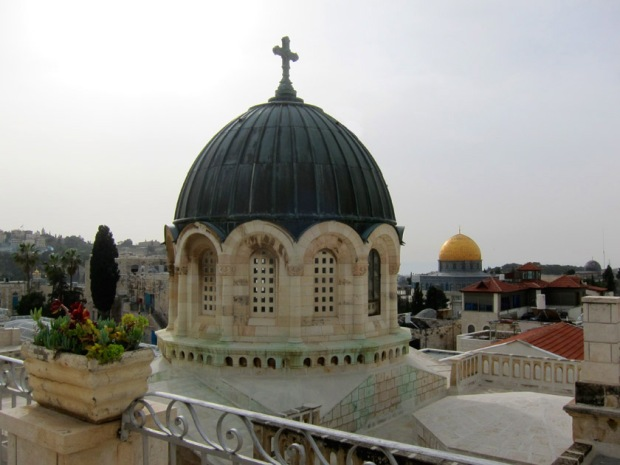 Ecce Homo Church and the Dome of the Rock
