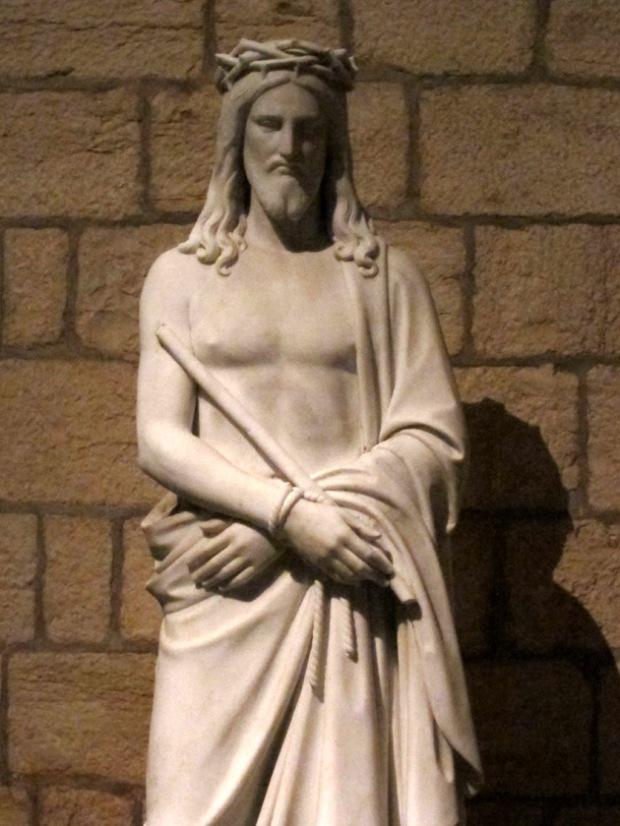 19th century Ecce homo statue