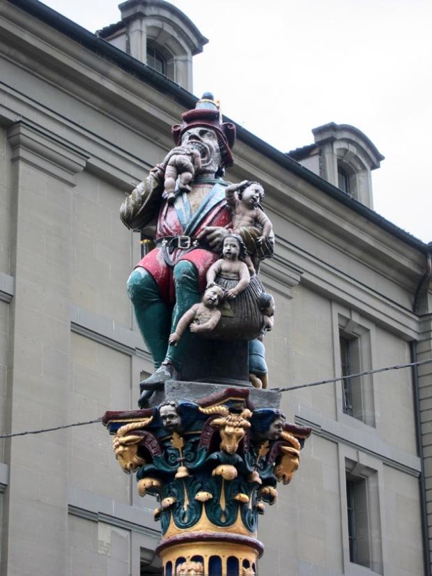 Ogre (or Child-Eater) Fountain, Bern, Switzerland
