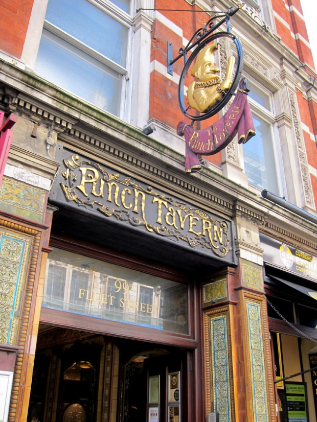 Punch Tavern, London