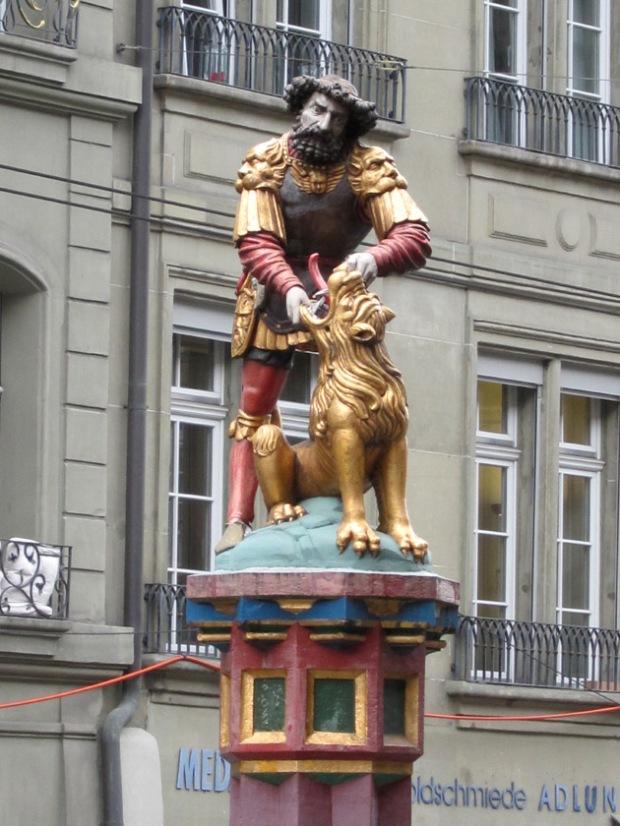Samson Fountain, Bern, Switzerland