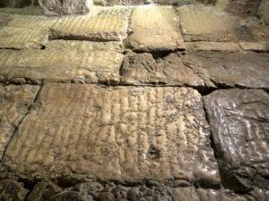 Roman street stones