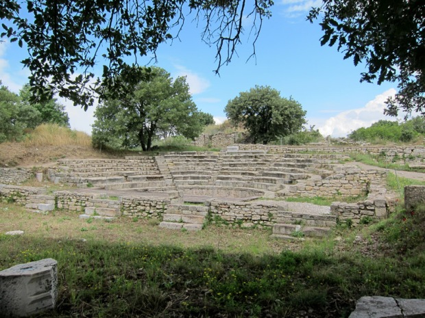 Roman theater, Troy, Turkey