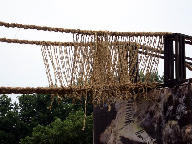 Q'eswachaka Bridge construction, Smithsonian Folklife Festival