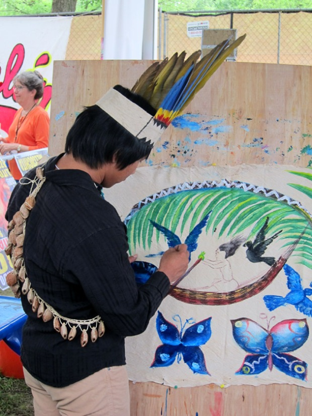 painter Peru
