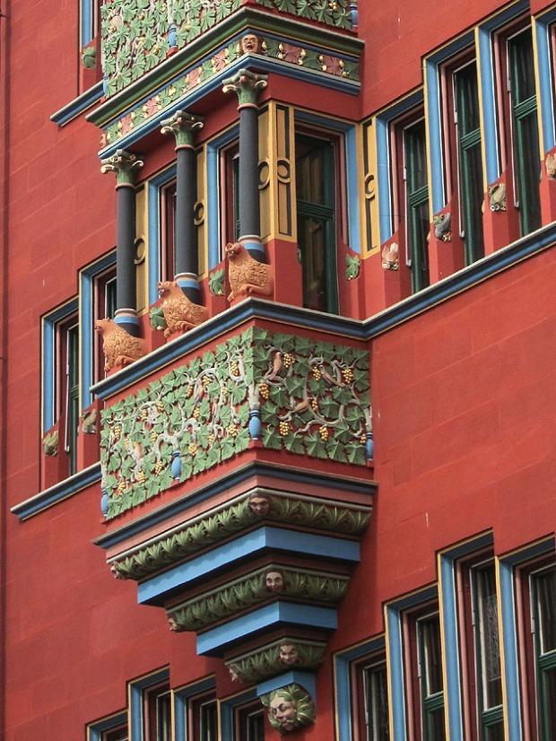 Neo-Gothic Balcony