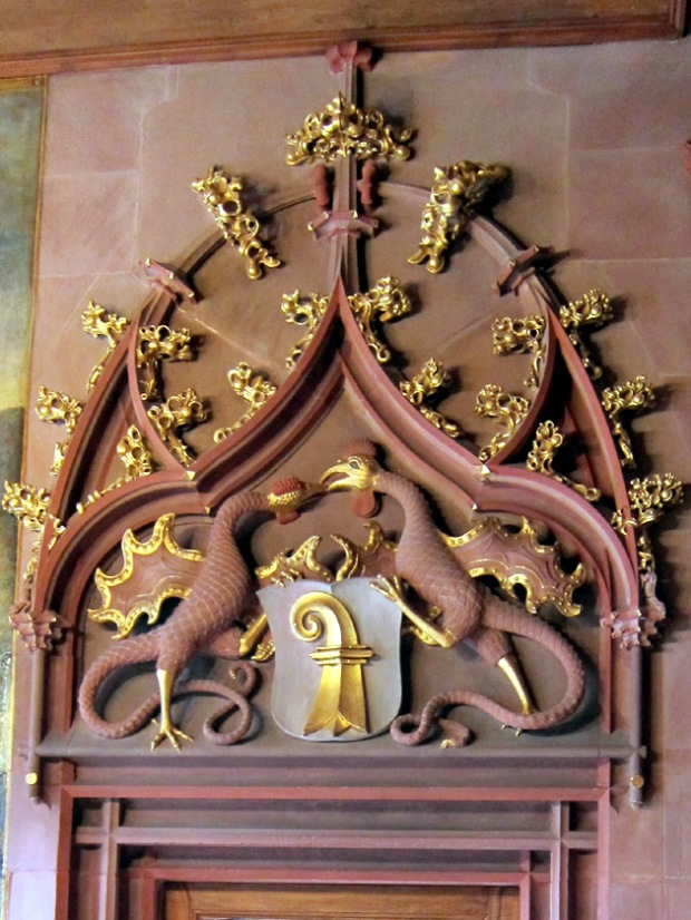 Basilisk doorway