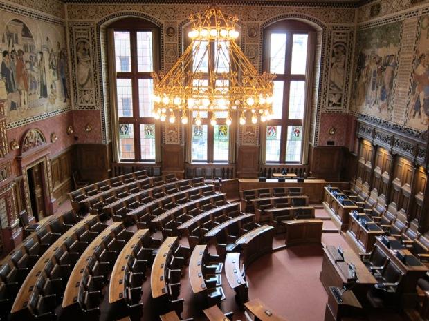 Canton Parliament Hall, Basel