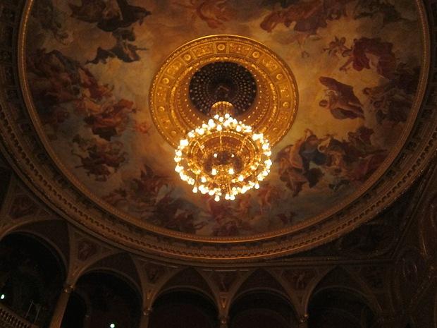 Ceiling fresco, Hugarian State Opera