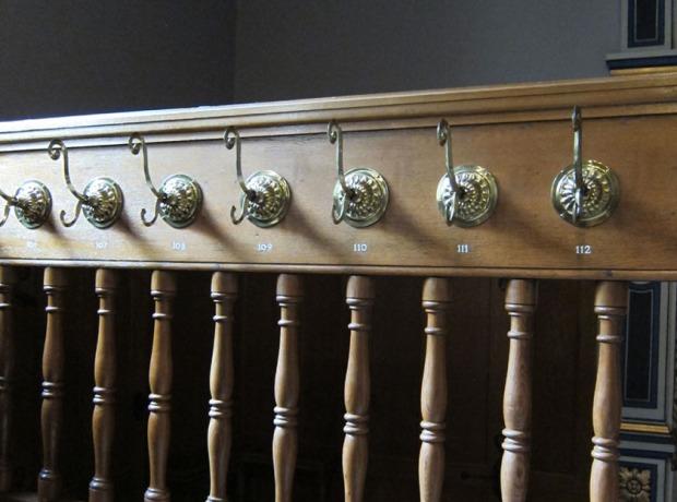Canton Parliament coat hooks