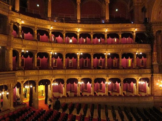 Hungarian State Opera House interior