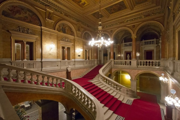 The Grand Staircase, Hungarian State Opera