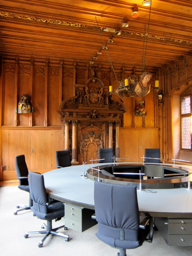 Medieval meeting room