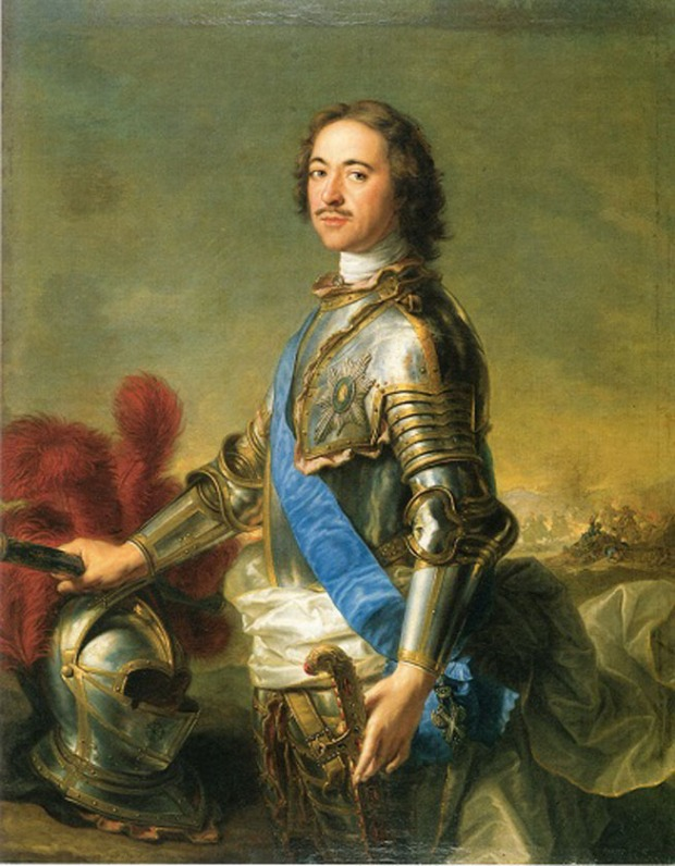 "J.-M. Nattier , ""Portrait of Peter the Great"""