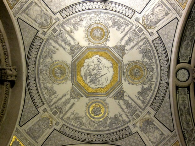 porch ceiling decoration, Hungarian State Opera