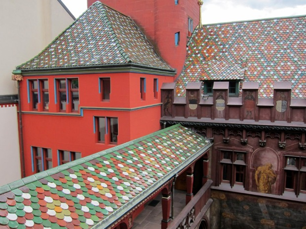 Rathaus town hall roof