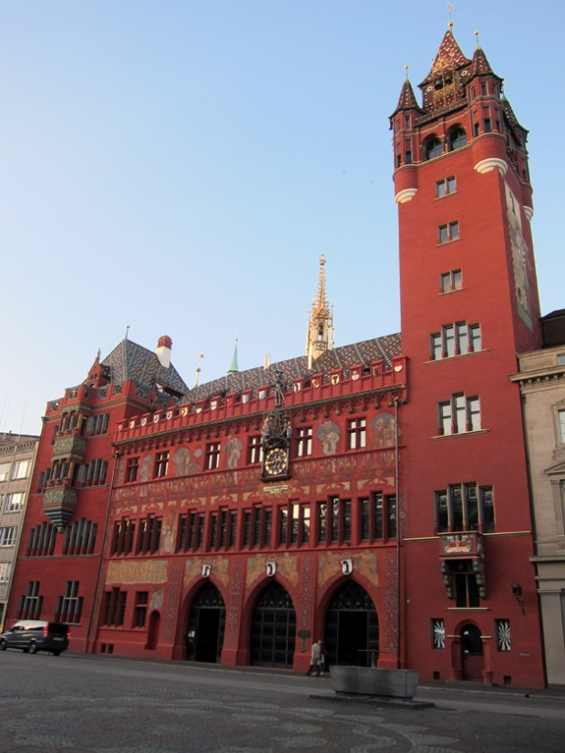 Basel Rathaus or Town Hall