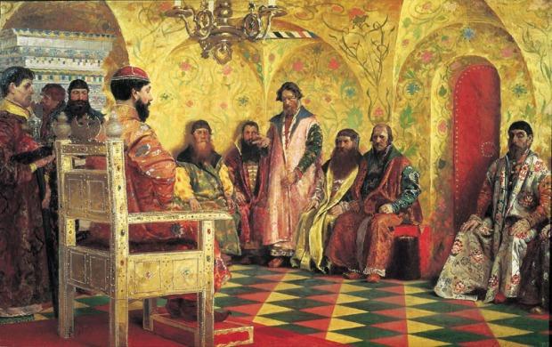 Tsar boyars Andrei Ryabushkin