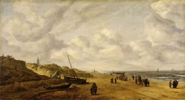 View of Scheveningen Sands before