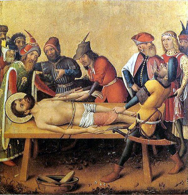 """""""Martyrdom of St. Bartholomew"""""""