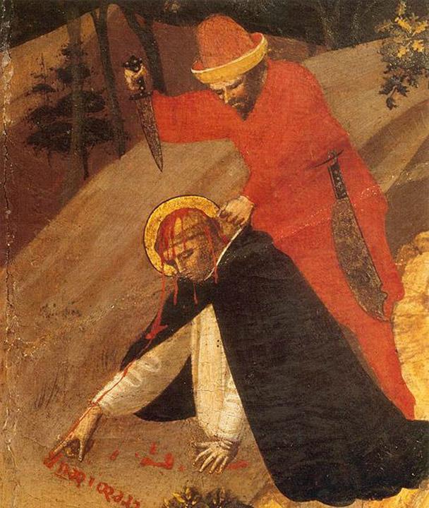 Fra Angelico - St Peter Martyr Altarpiece