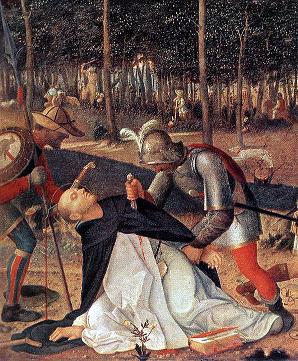 """Giovanni Bellini - The Murder of St Peter the Martyr"""""""