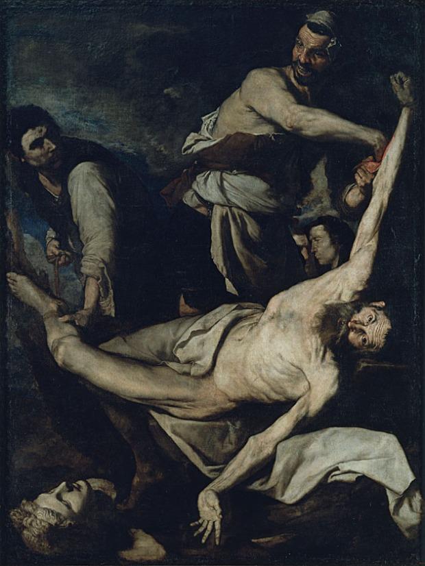 "Josep de Ribera - ""Martyrdom of Saint Bartholomew"""