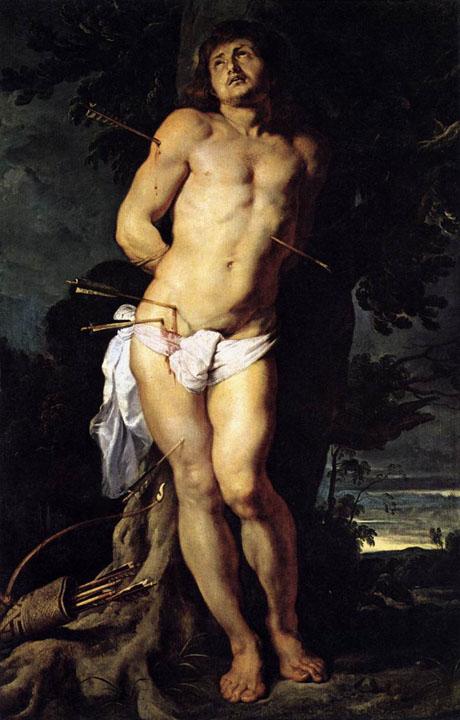 """Peter Paul Rubens - """"St Sebastian"""