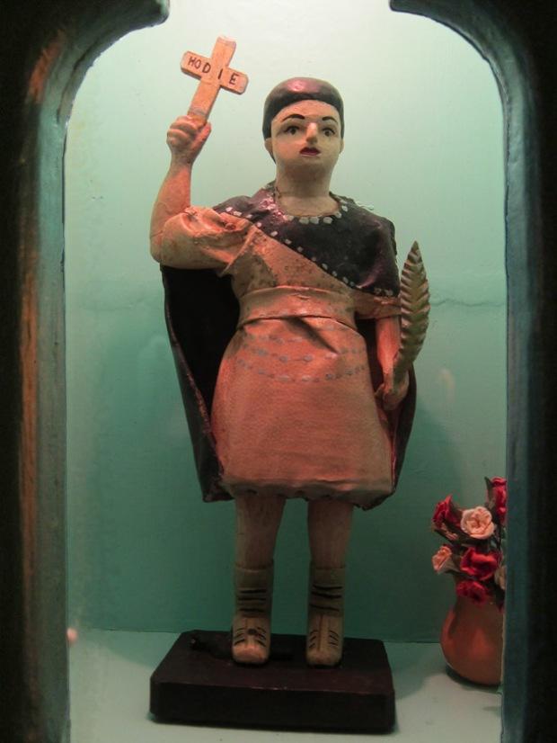 San. Expedito santos statue