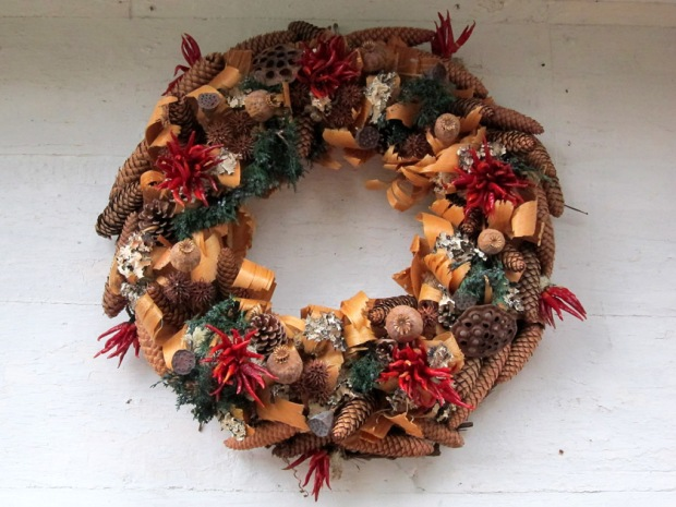 Cooper Christmas wreath